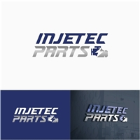 injetec parts, Logo e Identidade, Automotivo