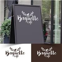 Baguette café, Logo e Identidade, Alimentos & Bebidas