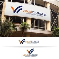 VELOCARGAS, Logo e Identidade, Logística, Entrega & Armazenamento
