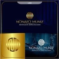 NONATO MUNIZ ADVOCACIA ESPECIALIZADA, Logo e Identidade, Advocacia e Direito