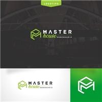 Master house engenharia , Logo e Identidade, Construção & Engenharia