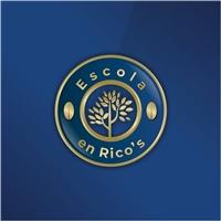 Escola en Rico's , Logo e Identidade, Educação & Cursos