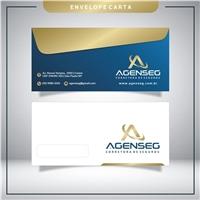 AGENSEG CORRETORA DE SEGUROS, Logo e Identidade, Consultoria de Negócios