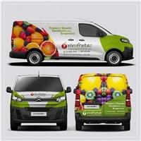 Vivafrutaz, Peças Gráficas e Publicidade, Alimentos & Bebidas