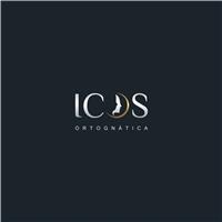 iCOS Ortognática, Logo e Identidade, Saúde & Nutrição