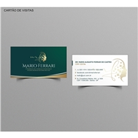 MARIO FERRARI Cirurgia de cabeça e pescoço, Logo e Identidade, Saúde & Nutrição