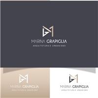 Marina Grapiglia/ Arquitetura e Urbanismo, Logo e Identidade, Arquitetura