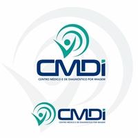 CENTRO MÉDICO E DE DIAGNÓSTICO POR IMAGEM (CMDI), Logo e Identidade, Saúde & Nutrição