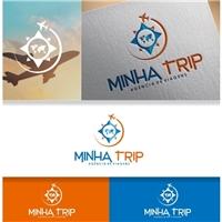 Minha Trip, Logo e Identidade, Viagens & Lazer