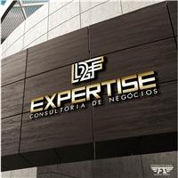 L2F - EXPERTISE, Logo e Identidade, Consultoria de Negócios