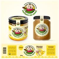 Papinha do Papai/ Papinhas orgânicas congeladas para bebês, Logo e Identidade, Alimentos & Bebidas
