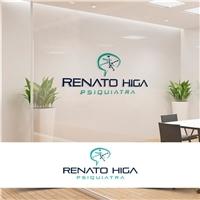 Renato Higa, psiquiatra, Logo e Identidade, Saúde & Nutrição