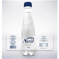 Agua Mineral Azul, Embalagens de produtos, Alimentos & Bebidas