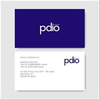 Pdio - process designer input output, Logo e Identidade, Computador & Internet