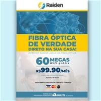 RAIDEN TELECOM, Peças Gráficas e Publicidade, Computador & Internet