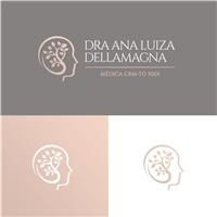Dra. Ana Luiza Dellamagna, Logo e Identidade, Saúde & Nutrição