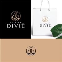 Clínica Divie, Logo e Identidade, Beleza