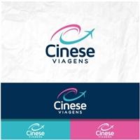 Cinese Viagens, Logo e Identidade, Viagens & Lazer