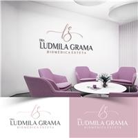 Dra Ludmila Grama, Logo e Identidade, Beleza