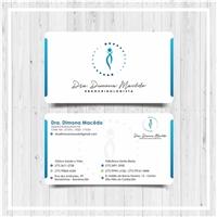 Dra. Dimona Macêdo Endocrinologista, Logo e Identidade, Saúde & Nutrição