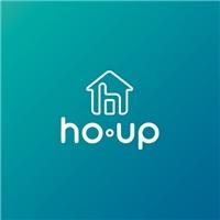 ho.up, Logo e Identidade, Decoração & Mobília