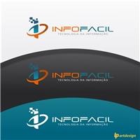 Infofacil Tecnologia da Informação Ltda, Logo e Identidade, Tecnologia & Ciencias