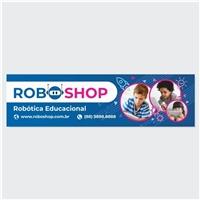 Roboshop, Logo e Identidade, Tecnologia & Ciencias