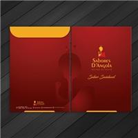 Nome da empress: Sabores D'Angola / frase comercial:  sabor saudável, Logo e Identidade, Alimentos & Bebidas