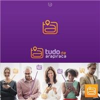 TUDO DE ARAPIRACA, Logo e Identidade, Computador & Internet