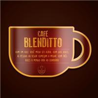 BLENDITTO CAFÉ -deve-se seguir este nome como marca e a logo em anexo , Logo e Identidade, Alimentos & Bebidas