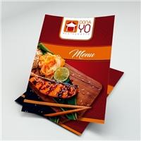 Restaurante Dona Yo, Peças Gráficas e Publicidade, Alimentos & Bebidas