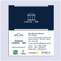 LODGE - BR LTDA, Logo e Identidade, Construção & Engenharia