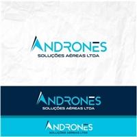Andrones Soluções Aéreas Ltda, Logo e Identidade, Tecnologia & Ciencias