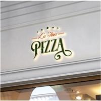 La FIna Pizza , Logo e Identidade, Alimentos & Bebidas