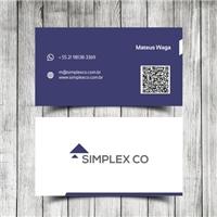 Simplex Co, Logo e Identidade, Consultoria de Negócios