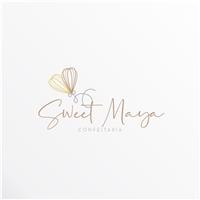 Sweet Maya Confeitaria, Logo e Identidade, Alimentos & Bebidas