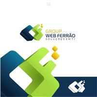 GROUP WEB FERRÃO  SOLUÇÕES EM TI, Logo e Identidade, Computador & Internet