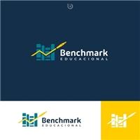 Benchmark Educacional, Logo e Identidade, Educação & Cursos