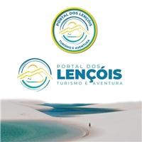 Portal dos Lençóis Turismo e Aventura, Logo e Identidade, Viagens & Lazer