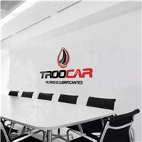 TROOCAR  Filtros e Lubrificantes, Logo e Identidade, Automotivo