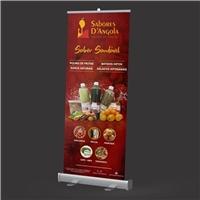 Banner Fisico Sabores D'Angola / frase commercial:  sabor saudável, Outros, Alimentos & Bebidas