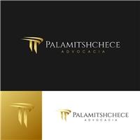Palamitshchece Advocacia, Logo e Identidade, Advocacia e Direito