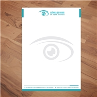 Clínica de Olhos Dr Adam Brandão, Logo e Identidade, Saúde & Nutrição
