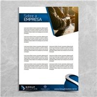GROUP SOLUTION, Apresentaçao, Contabilidade & Finanças
