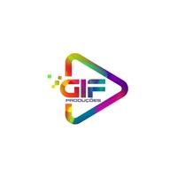 GIF Produções, Logo e Identidade, Artes, Música & Entretenimento