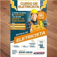 Microtech treinamentos- curso de eletricista , Peças Gráficas e Publicidade, Educação & Cursos
