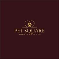 PET SQUARE BOUTIQUE & SPA , Logo e Identidade, Animais