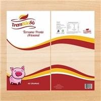 Trem Bao Sô, Embalagens de produtos, Alimentos & Bebidas