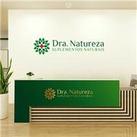 DOUTORA NATUREZA PRODUTOS NATURAIS, Logo e Identidade, Saúde & Nutrição