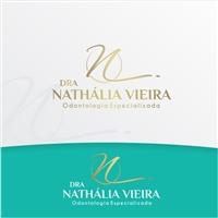 Dra Nathália Vieira  Slogan: Odontologia Especializada, Logo e Identidade, Odonto